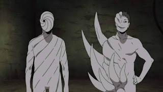 "ini ialah manusia eksperimen yang dilahirkan oleh Madara dengan memakai sel Hashirama.    Sehabis Madara tewas, Zetsu jadi pembimbing Obito untuk melaksanakan konsep mata bulan.    Zetsu Putih sendiri mempunyai keahlian yang bisa berpadu dengan tumbuhan, alhasil bisa berpindah tempat dengan sangat cepat dari satu tumbuhan ke tempat lain. Dapat dikatakan dia ialah"" peniru terhebat"" di mana Byakugan dan shinobi jenis pemeriksaan juga apalagi tidak bisa membedakannya, seperti dikala dia menyamar bagaikan Kisame serta Neji."