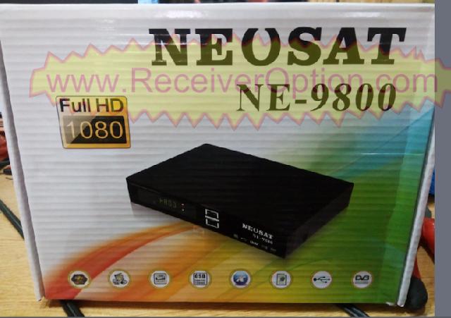 NEOSAT NE-9800 HD RECEIVER POWERVU KEY NEW SOFTWARE BY USB