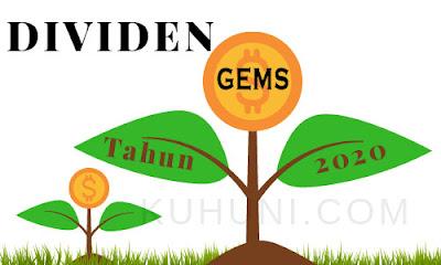 Jadwal Dividen GEMS 2020
