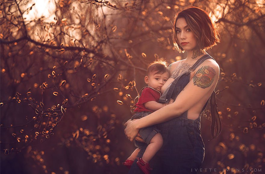 Racy Or Beauty? These Breast Feeding Moms Are Blowing Up The Internet!