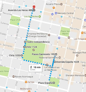 Plazas España e Independencia (Google Maps)