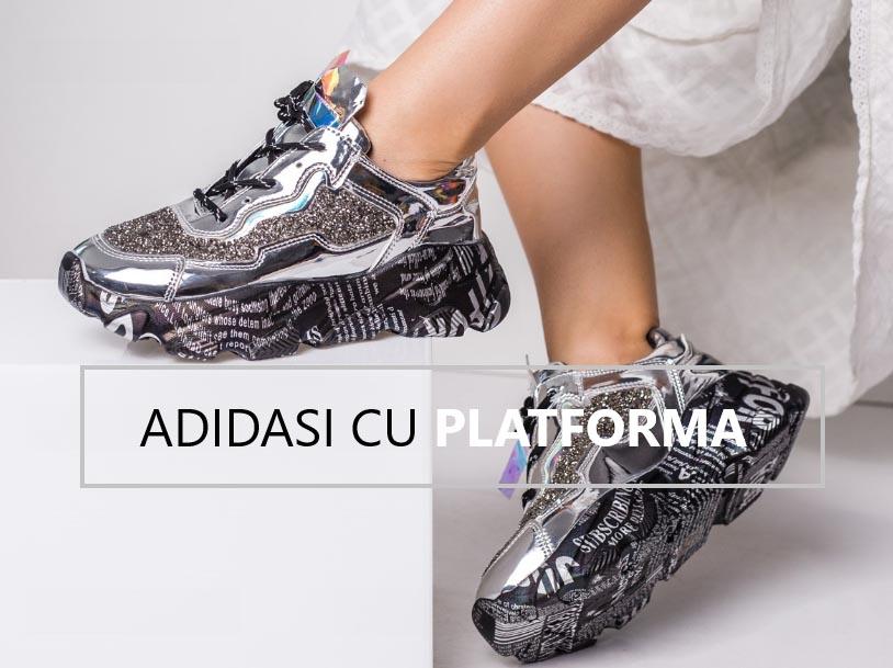 Adidasi cu platforma pentru femei