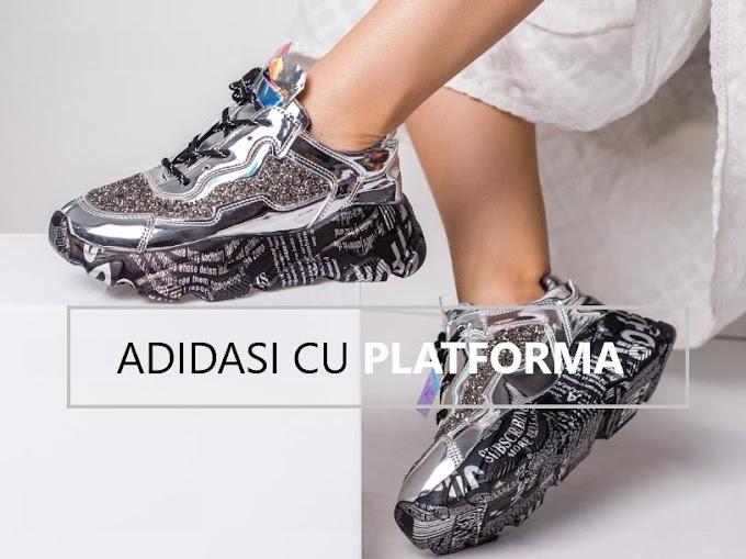 Adidasi dama cu talpa groasa si platforma inalta ieftini moderni