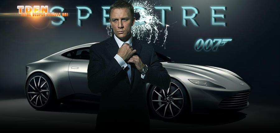 Daniel Craig îl interpretează pe spionul James Bond în filmul cu numărul 24 al francizei intitulat: Spectre
