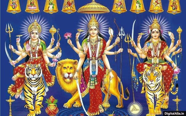 indian goddess wallpaper