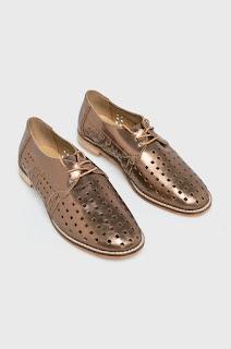 Emu Australia - Pantofi casual dama aurii piele naturala.jpg