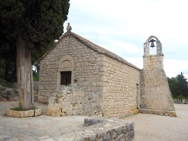 Church on Marjan Hill, Split, Croatia