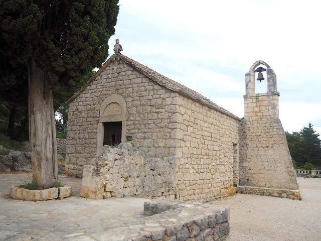 Church on Marjan Hill, Split, Croatia
