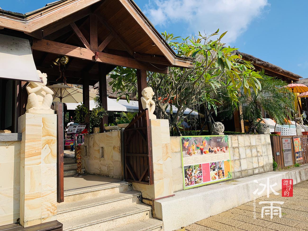 裝飾濃厚的巴厘島風格