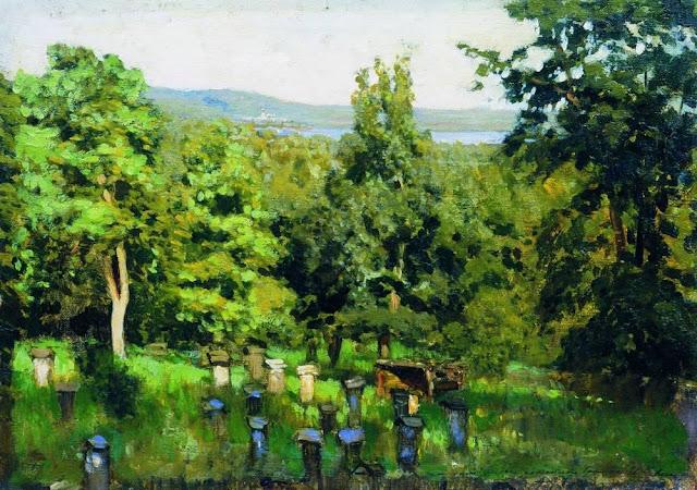 Исаак Ильич Левитан - Пасека. 1887