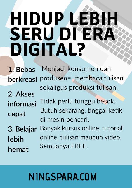 Serunya Hidup di Era Digital, cara mendaftarkan blog, cara membeli hosting murah