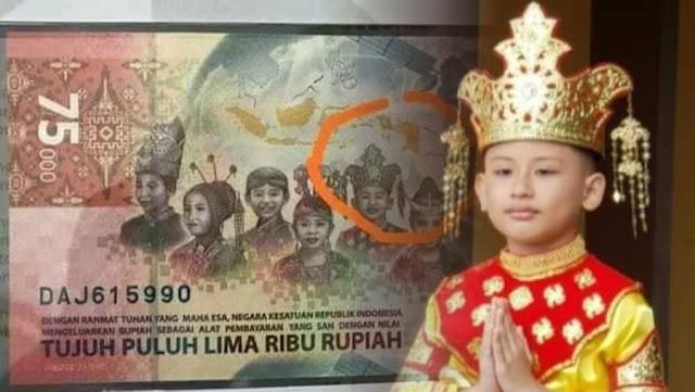 Disebut Ada Pakaian Adat China di Uang Baru Rp75.000, Ini Komentar Netizen