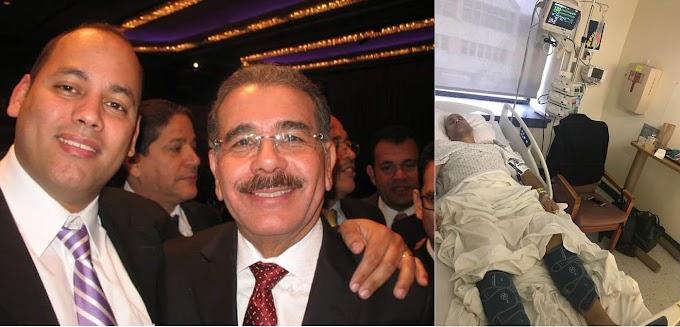 Dirigente del PLD en Nueva York  languidece en hospital y clama  que Danilo se conduela