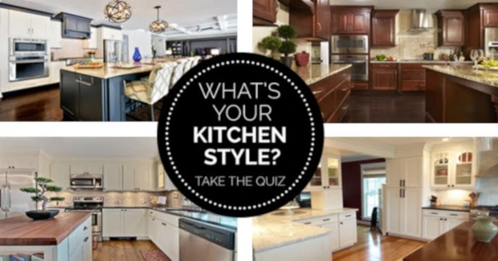 What Is Your Kitchen Style?