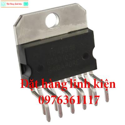 IC TDA7396 45Watt-2Ω Điện Tử