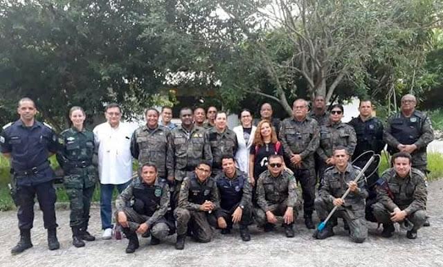 Guardas Municipais de Socorro participam de curso de apreensão de animais silvestres
