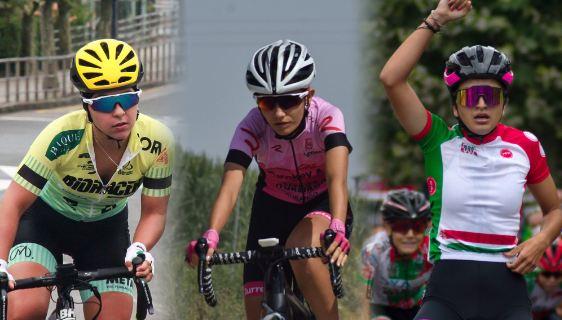 Julia Sánchez, Marina Garau y June Herrera correrán en el Bizkaia - Durango en 2021