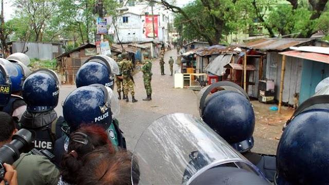 Bangladesh police raid office of opposition leader Khaleda Zia
