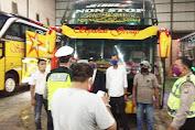 Jelang Penerapan New Normal, Unit Lantas Polsek Medan Helvetia Patroli Sekaligus Himbau Masyarakat