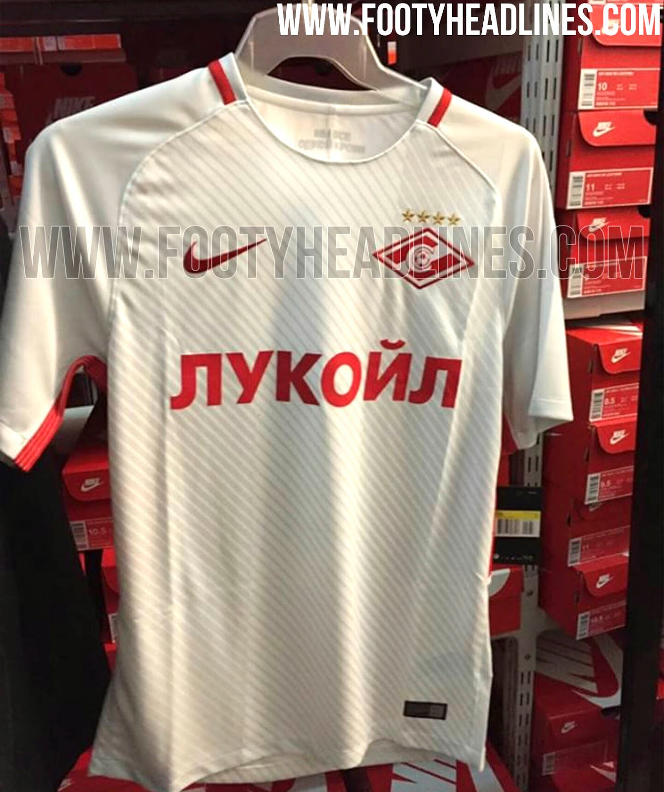 Spartak Moscow Away Jersey 2017 / 2018