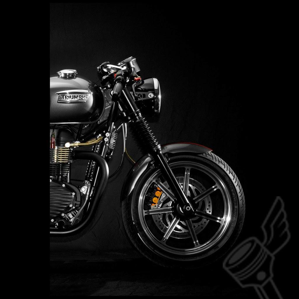 Triumph Motorcycle Wallpaper: Triumph Motorcycles Bonneville Custom