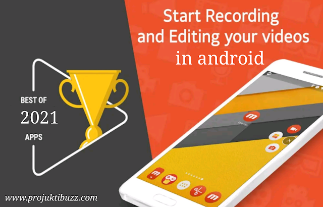 অ্যান্ড্রয়েড ফোনের স্কিন রেকর্ডার অ্যাপস Android Screen recording apps