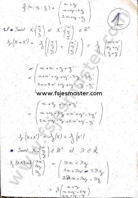 Exercices d'Algèbre avec Corrigés