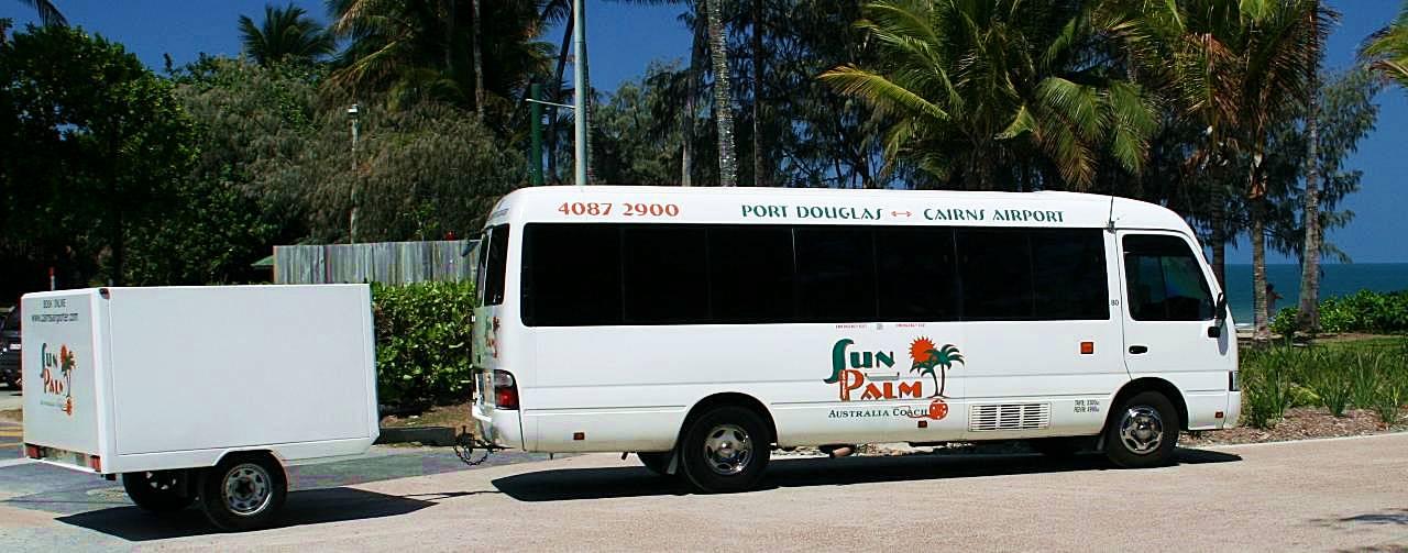 凱恩斯-交通-巴士-公車-機場-市區-接駁-旅遊-自由行-澳洲-Cairns-Transport-Airport-City-Shuttle-Bus-Travel-Australia