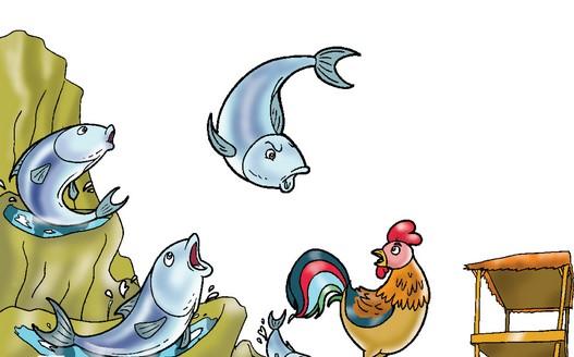 Cerita Anak Kenapa Ikan Tongkol Bermusuhan Dengan Ayam