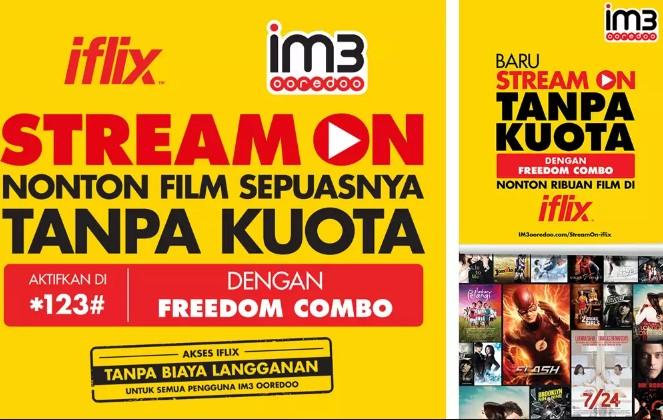 iflix Indosat Ooredoo