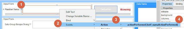 Aplikasi Dekstop Team Generator Sederhana Java GUI