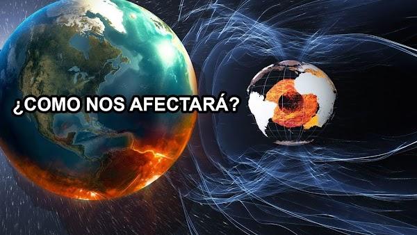 URGENTE: los polos magneticos se estan desplazando a gran velocidad.