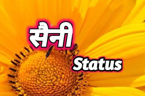 Saini status in Hindi 2021   सैनी स्टेटस
