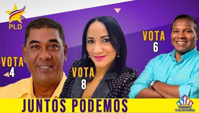 Barahona: Ilianov, Carlos García y Juana Reynoso ganan posición al CC del PLD