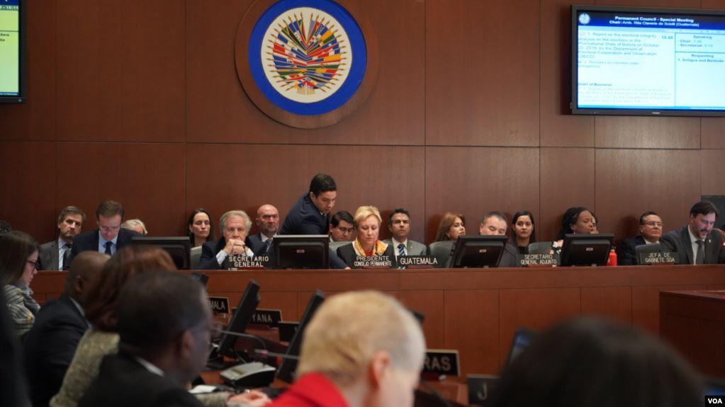 Por su parte, el Secretario General de la OEA, Luis Almagro dijo que el verdadero golpe de Estado se dio cuando