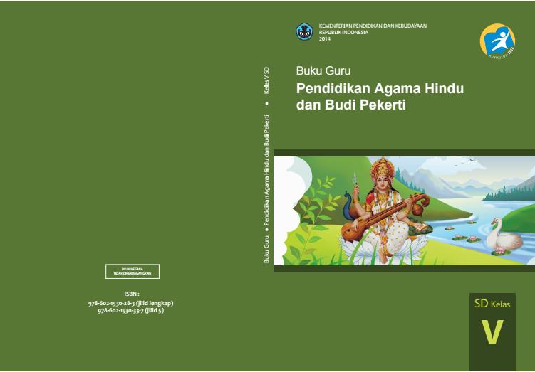 Download Gratis Buku Guru Pendidikan Agama Hindu Dan Budi Pekerti Kelas 5 SD Kurikulum 2013 Format PDF