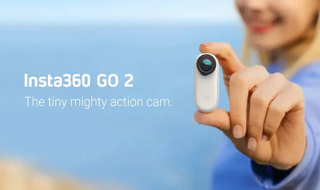 Insta360 Go 2 ... a thumb-sized camera for unobstructed photography