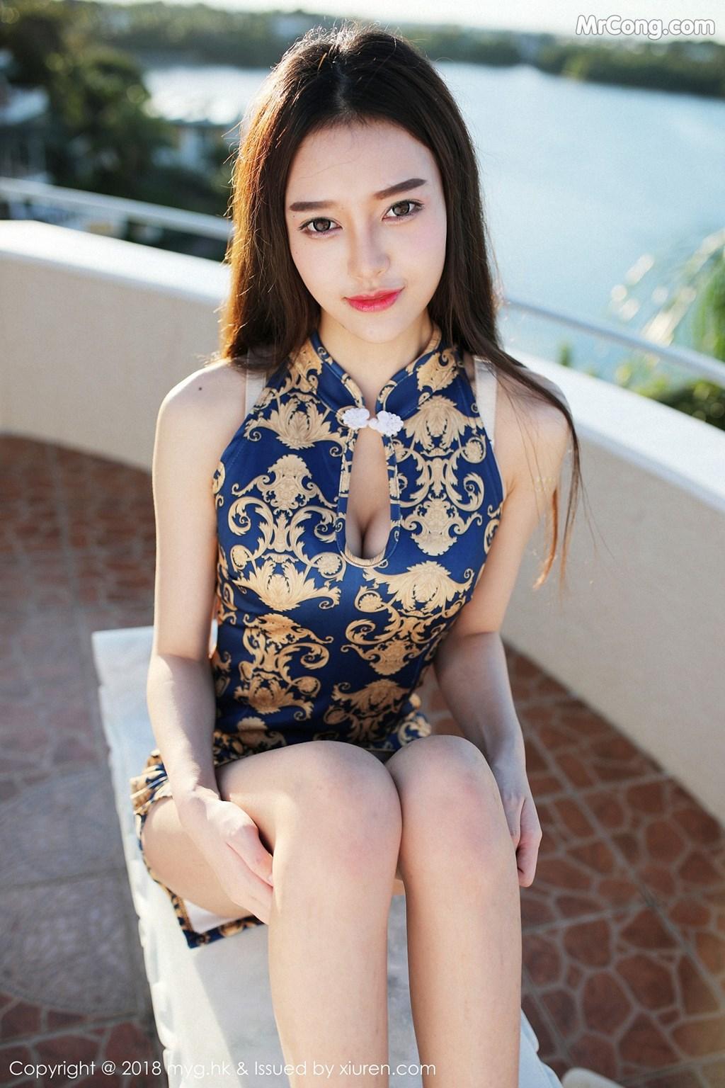 Image MyGirl-Vol.300-Tang-Qi-Er-il-MrCong.com-010 in post MyGirl Vol.300: Người mẫu Tang Qi Er (唐琪儿il) (47 ảnh)