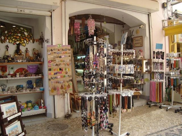 Lojas de Rua em Albufeira