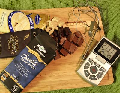 Suklaan Sulattaminen Mikrossa