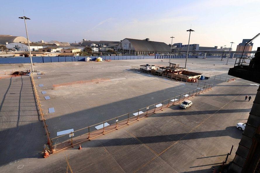 Klabin inicia construção de terminal de celulose no Porto de Paranaguá