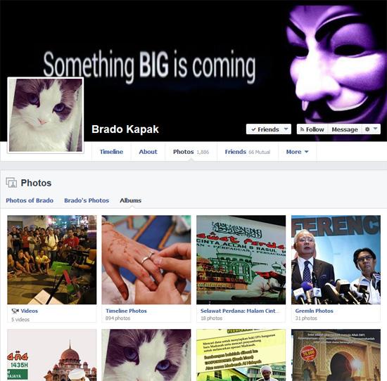 Gambar blogger Brado Kapak