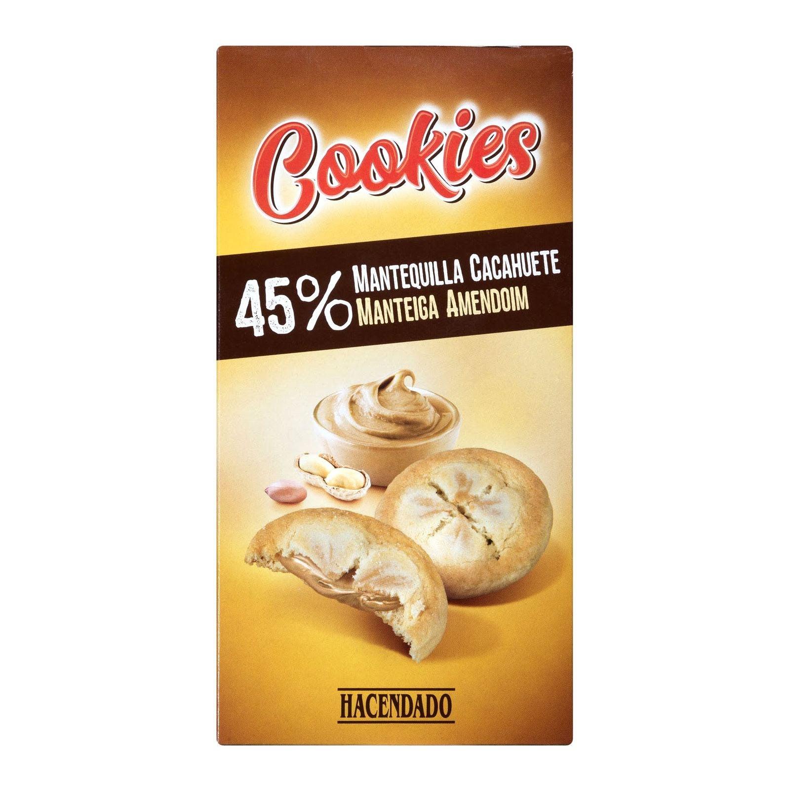 Cookies rellenas de mantequilla de cacahuete Hacendado