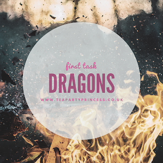 Triwizard Tournament Readathon TBR - First Task - Dragons