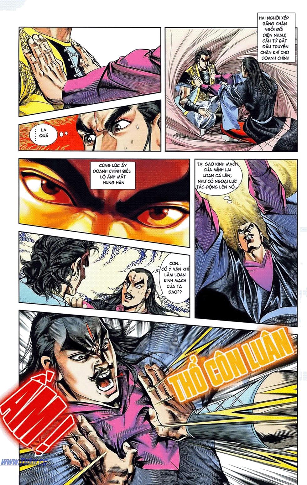 Tần Vương Doanh Chính chapter 20 trang 9