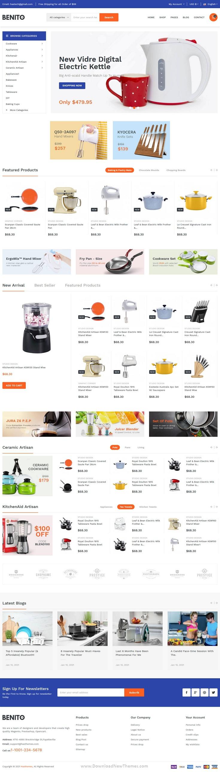 Mega Store Responsive Bootstrap 5 Template