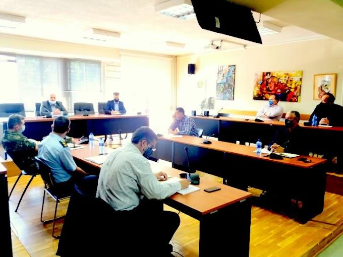 Συνεδρίασε το Συντονιστικό Όργανο Πολιτικής Προστασίας της Π.Ε. Φλώρινας Ενόψει της Αντιπυρικής Περιόδου 2021