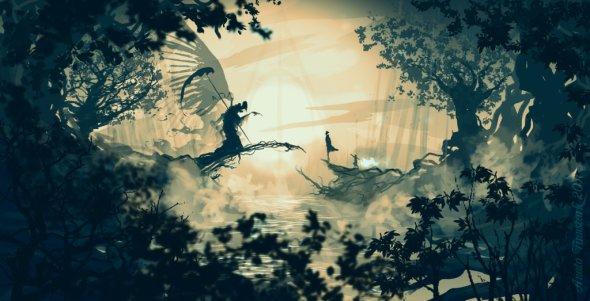 Anato Finnstark deviantart ilustrações fantasia fan-arts