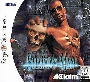 Shadow Man Sega Dreamcast horror game cover art