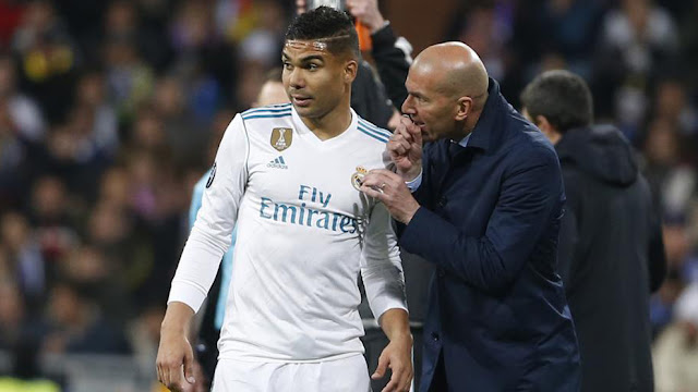 I get nervous talking to Zidane - Casemiro